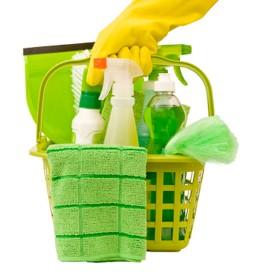 Cómo limpiar con menos productos químicos